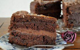 Домашний шоколадный торт «Захер»