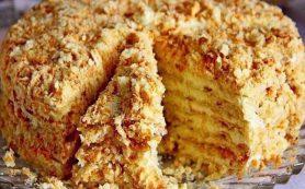 Торт «Светлана» без выпечки