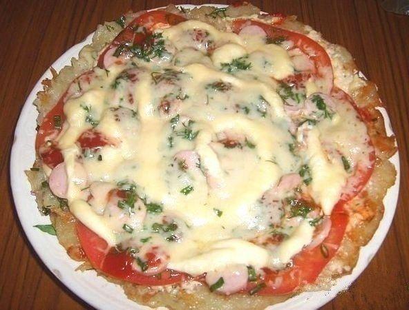 «Картофельная пицца»