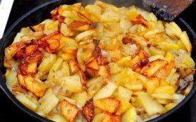 Жарим картошку правильно