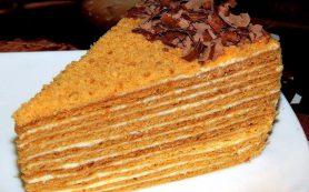 Рецепт торта «Медовик»