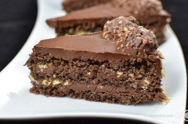 Торт «Ferrero rocher»