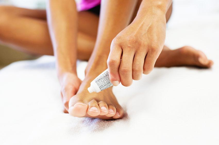 Как вылечить грибок ногтей на ногах?