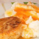 Рыбные котлеты с кабачком