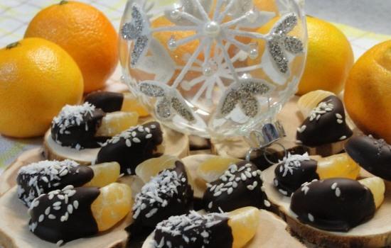 Быстрые и вкусные десерты с мандаринами