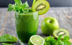 Жиросжигающий коктейль с зеленью