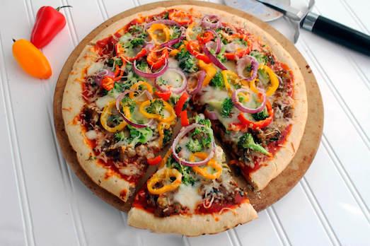 Как приготовить вегетарианскую пиццу?