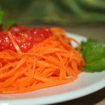 Овощные спагетти из моркови