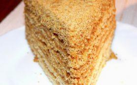 Медовый торт «Нежность»