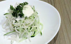 Овощной салат из дайкона