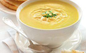 Сливочный суп с морковью и беконом
