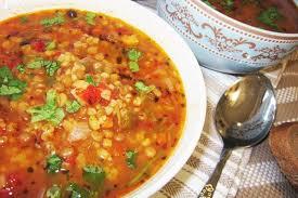 Чечевичный суп с картофелем (без масла)