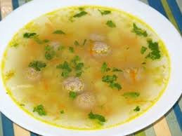 Суп с фрикадельками простой