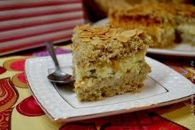 Овсяно-творожный торт