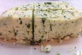 Домашний чесночный сыр