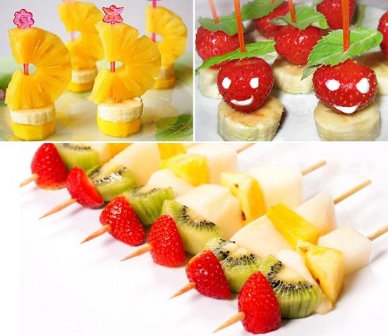 Угощение для детского праздника