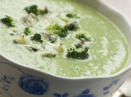 Картофельный суп с голубым сыром