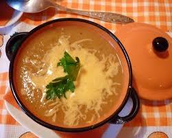 Густой суп со стручковой фасолью и болгарским перцем