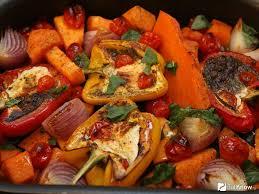 Запеченные овощи к празднику