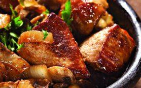 Шашлык из говядины по-мирзаански