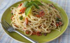 Спагетти с неркой