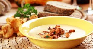 Грибной суп-пюре с лисичками