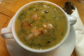 Гороховый суп с горчицей