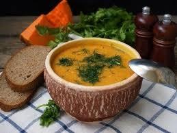 Мексиканский суп с нутом и тыквой