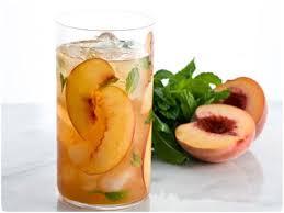Охлажденный персиковый чай