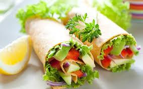 Вегетарианское буррито