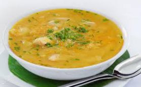 Горохово-сырный суп
