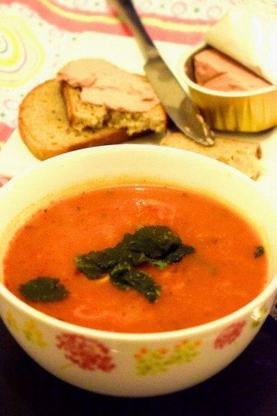Суп помидорный по-польски