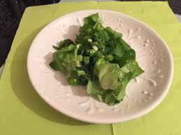 Салат из зелёного салата