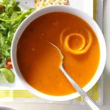 Суп томатно-апельсиновый