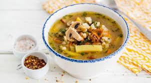 Крупник (польский суп с перловкой)