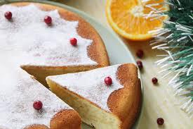 Цитрусовый новогодний пирог