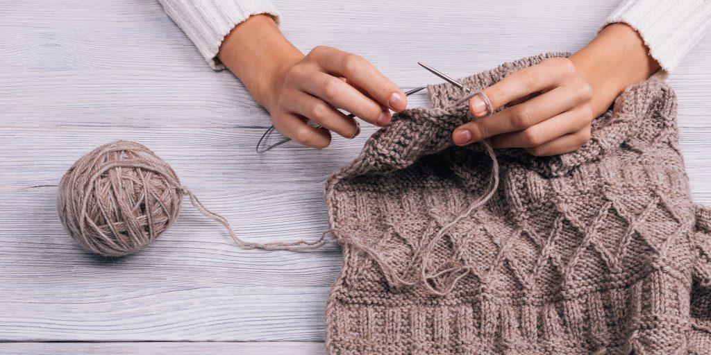 На какой пряже лучше всего учиться вязать? Счетчики рядов для вязания.