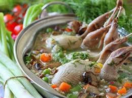 Суп из перепелов