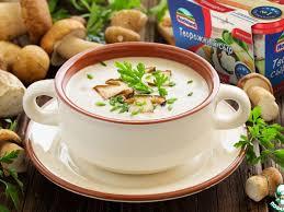Творожный крем-суп