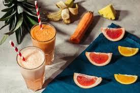 Тыквенный смузи с грейпфрутом и пряностями