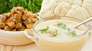 Крем-суп из цветной капусты «Дюбарри»