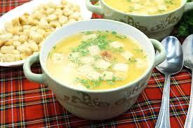 Постный суп пюре из гороха
