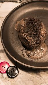 Запеченный картофель с трюфельным соусом