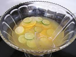Пунш грушево-лимонный