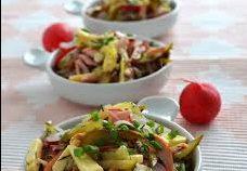 Салат по-швейцарски с редисом