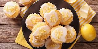 Лимонные кексы с йогуртом