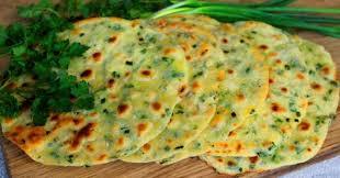 Картофельные лепёшки с зеленью