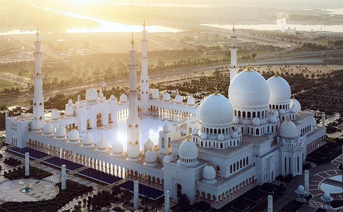 Посещение Великой Мечети Шейха Зайда в Абу-Даби