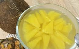 Шипучка с ананасом