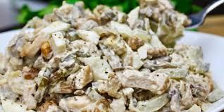 Грибной салат «Ирина»